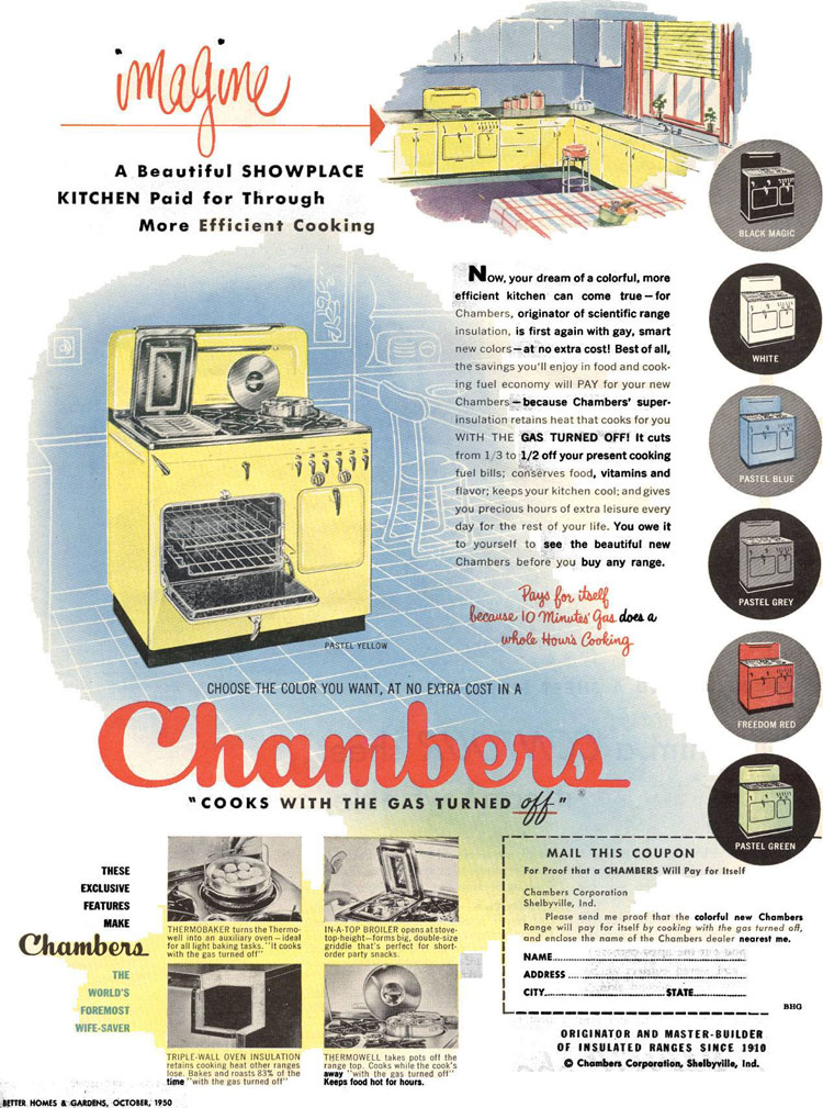1950 Color Ad
