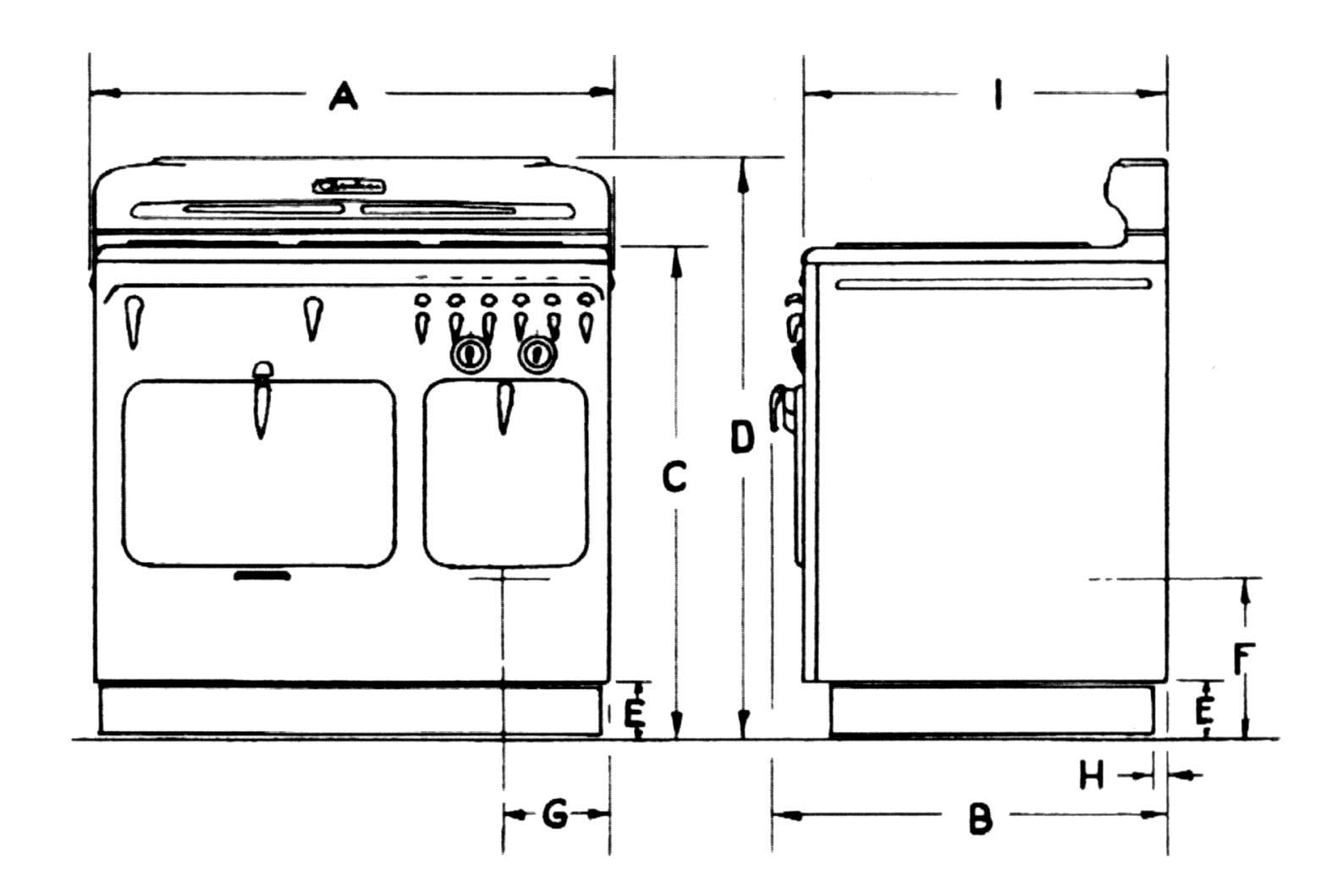 Kitchen cabinets stove dimensions - Kitchen Cabinets Stove Dimensions 2