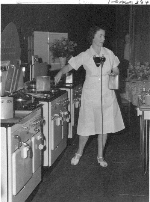 Alma Chambers @ a Cooking School