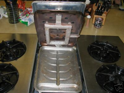The In-A-Top Broiler/Griddle